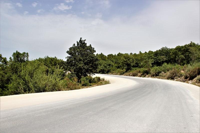 renforcement de la route RN 11 gouvernorat de jendouba